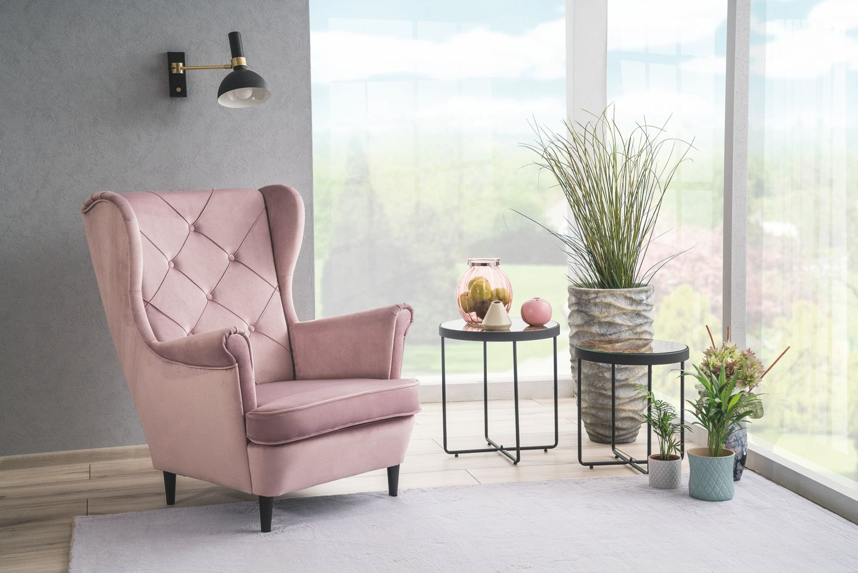 Fotel Lady Velvet Antyczny Roz Aksamitny Na Nogach Wenge Signal Sklep Z Meblami Mirat In 2021 Furniture Home Decor Decor