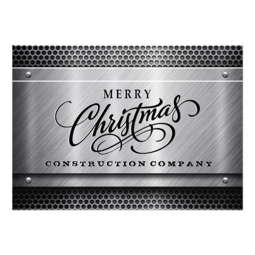 Construction business christmas cards template business christmas construction business christmas cards template accmission Images