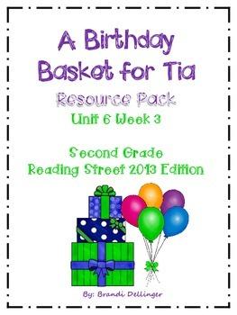 A Birthday Basket for Tia | | 2nd Grade | | Birthday basket ...