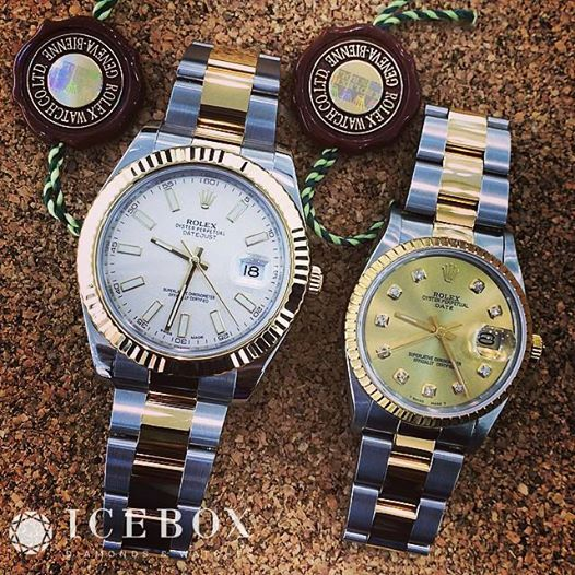 Pin on His and Hers Rolex