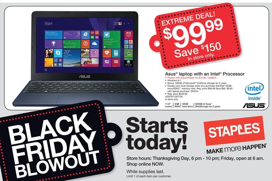 black friday deals on laptops