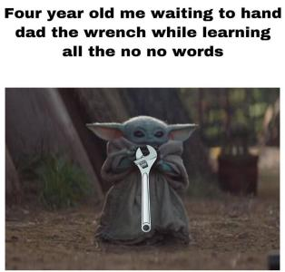 Pin By All This Panic And No Disco On Oof Yoda Funny Yoda Meme Really Funny Memes