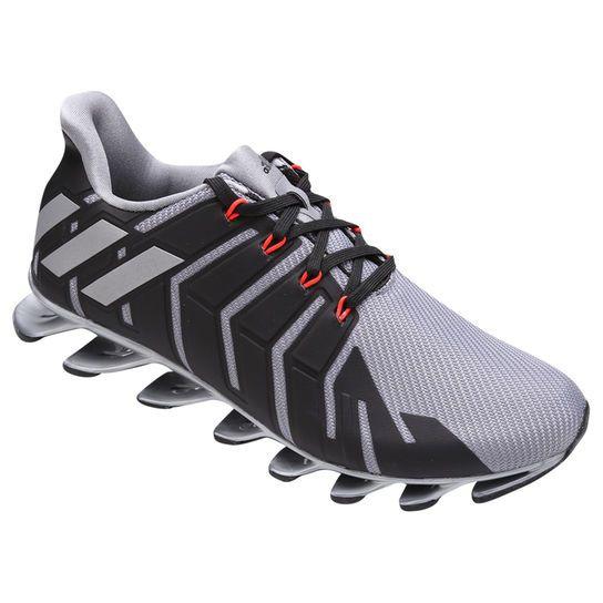 cheap for discount 3ad81 b1e92 Tênis Adidas Springblade Pro - Branco+Preto