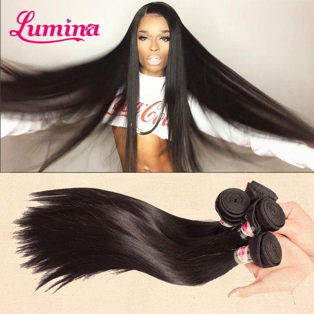 Goedkope 8A Grade Braziliaanse Virgin Haar Straight 3 Bundels Deal Virgin Onverwerkte Menselijk Haar Braziliaanse Straight Hair Weave Bundels