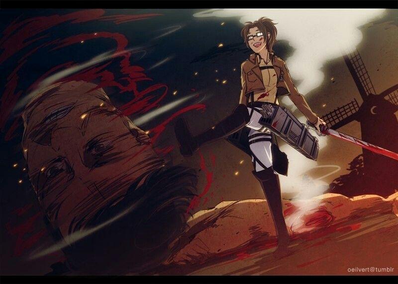 Hanji Zoe | Attack on titan season, Attack on titan ...