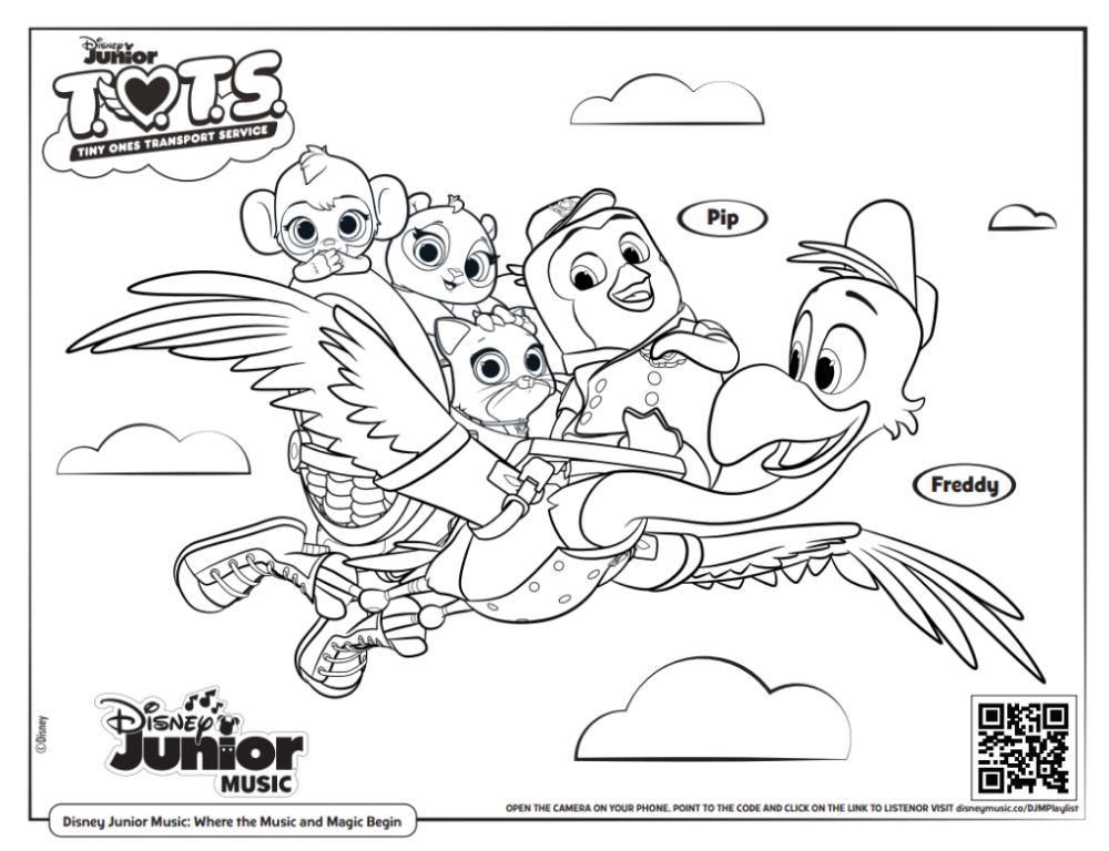 71 Colouring Book Disney Tots Coloring Pages Di 2020 Buku Mewarnai Halaman Mewarnai Disney Junior