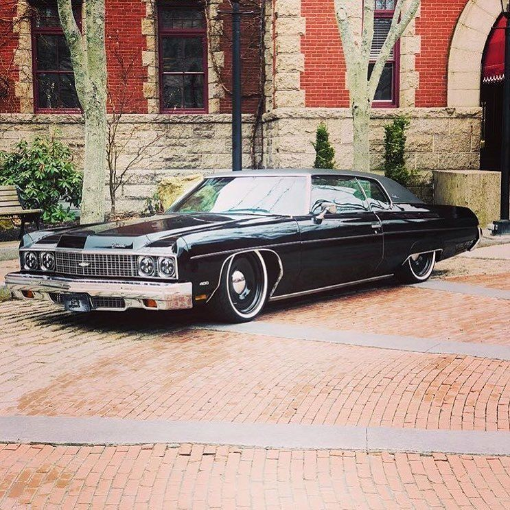 Northeast Autoworks Posting Up This Beautiful 73 Impala On Our