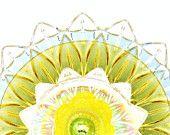 Garden Art Suncatcher Recycled Vintage