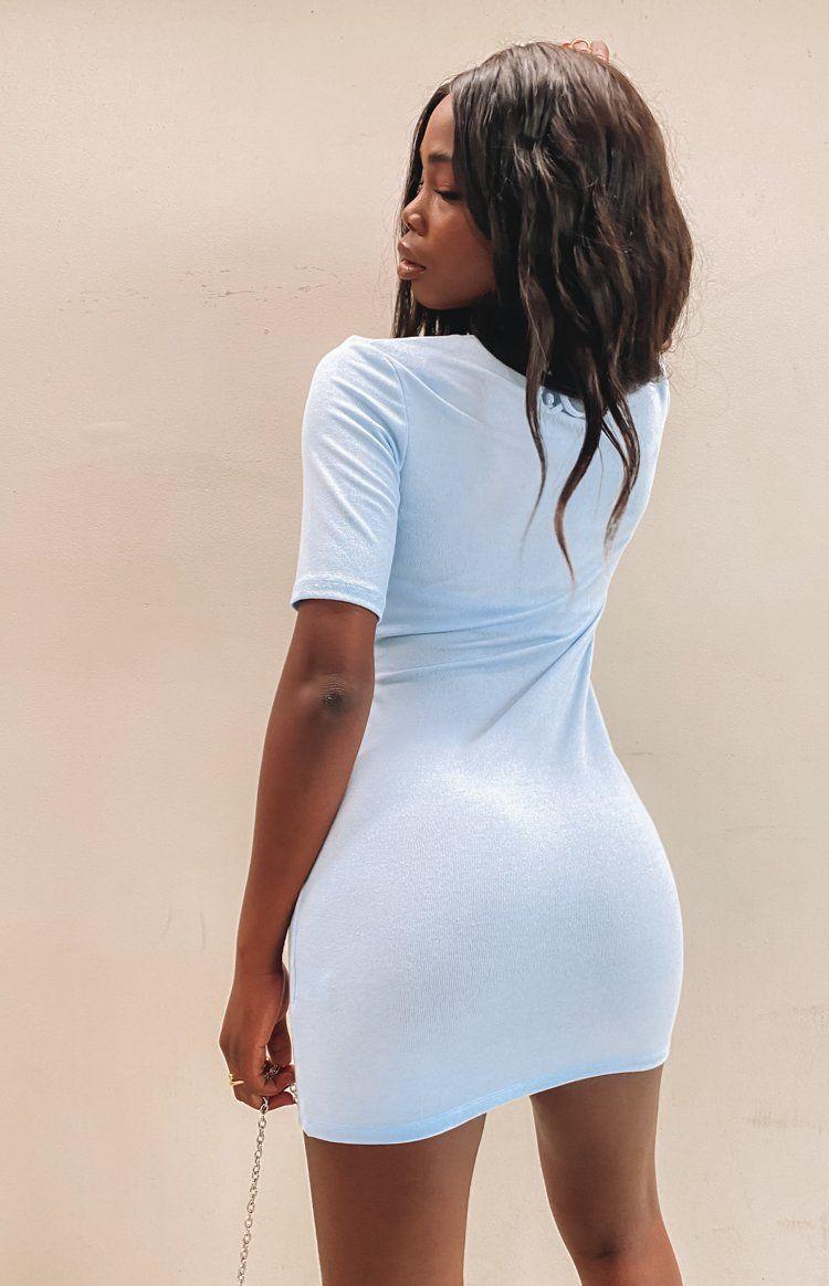 Lioness Field Of Dreams Mini Dress Blue In 2021 Mini Dress Summer Dress Outfits Summer Stripes Outfit [ 1164 x 750 Pixel ]