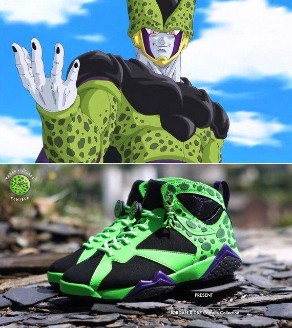 Des sneakers aux couleurs de Dragon Ball Z, c'est oui ! | Dragon ball,  Dragons and Dbz