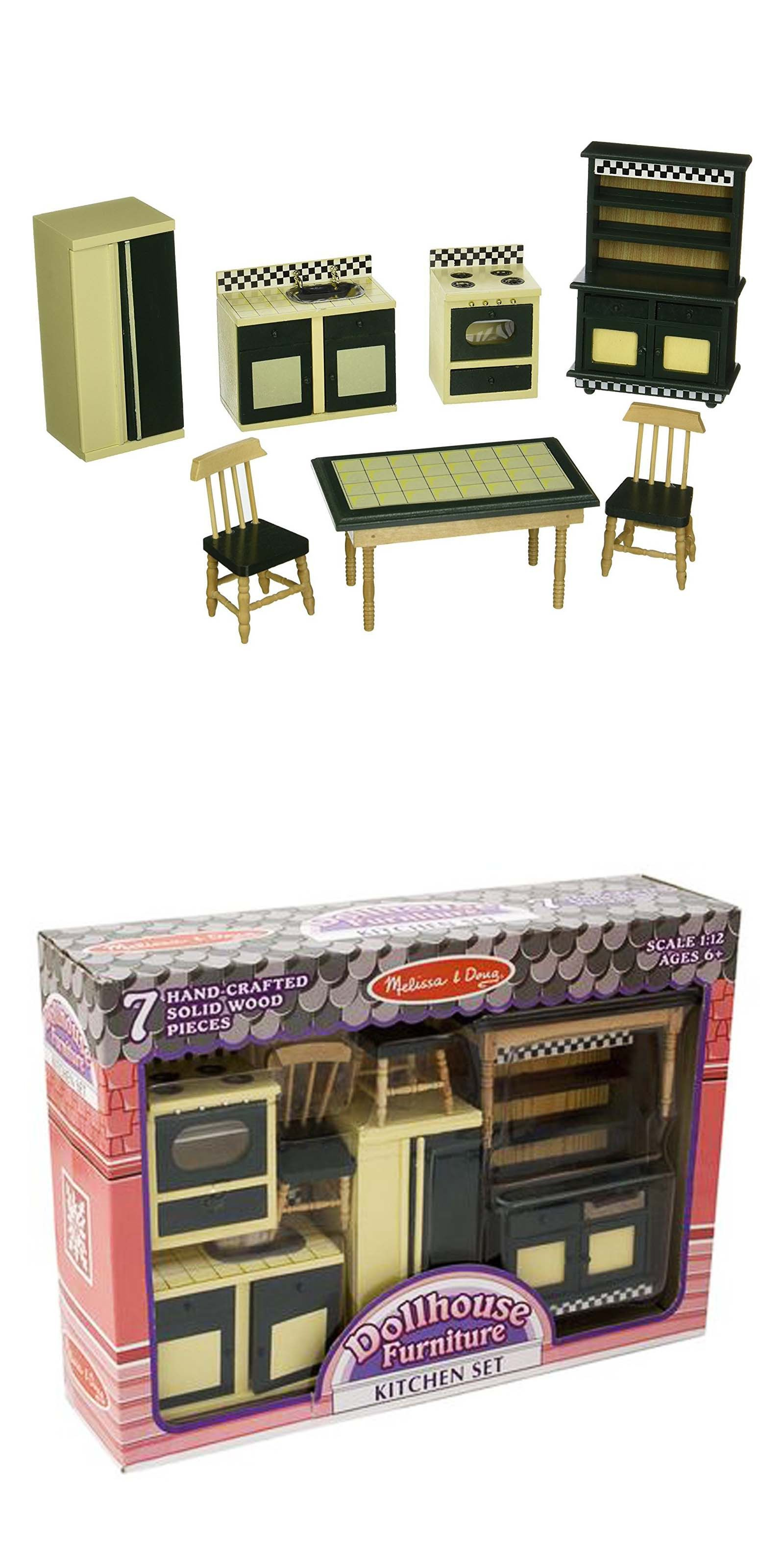 Melissa and Doug Melissa And Doug Doll House Furniture