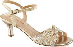 c406ba8c41c Women s Fabulicious Audrey 03 Ankle Strap Sandal - Nude Shimmering Fabric  with FREE Shipping   Exchanges. Add glam to your ensemble wearing the  Fabulicious ...