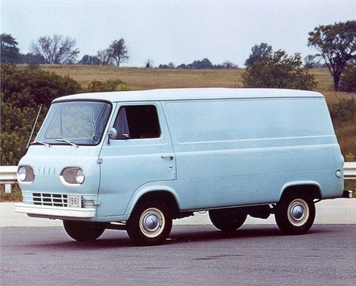 Flat Front Econoline As A Van Ford Van Ford Econoline Cargo Van Van