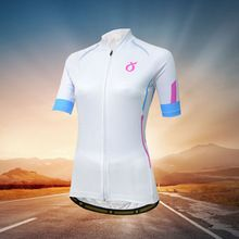 EMONDER Women cycling jersey Short Sleeve mtb road bike clothes cozy slim  White bike jersey ropa ciclismo maillot cycling top 3b1290e7d