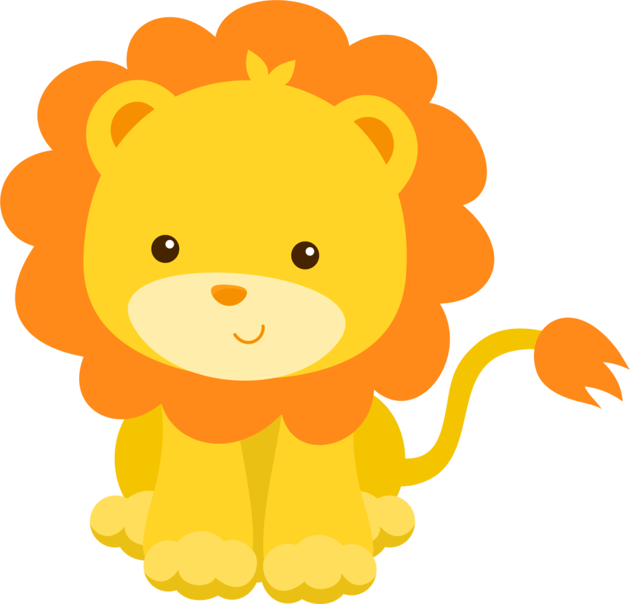 Cute Baby Jungle Animals Clipart - 2019 Clipart Gallery ...