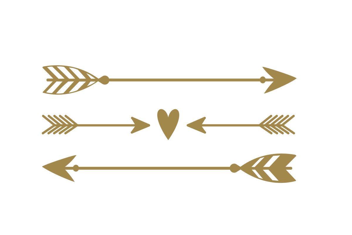 Arrow decal rustic wedding decor boho decor arrow stickers