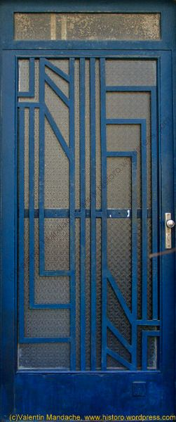 Art Deco Door.SIMPLE AND AGELESS TGS.... This May Sound Terrible