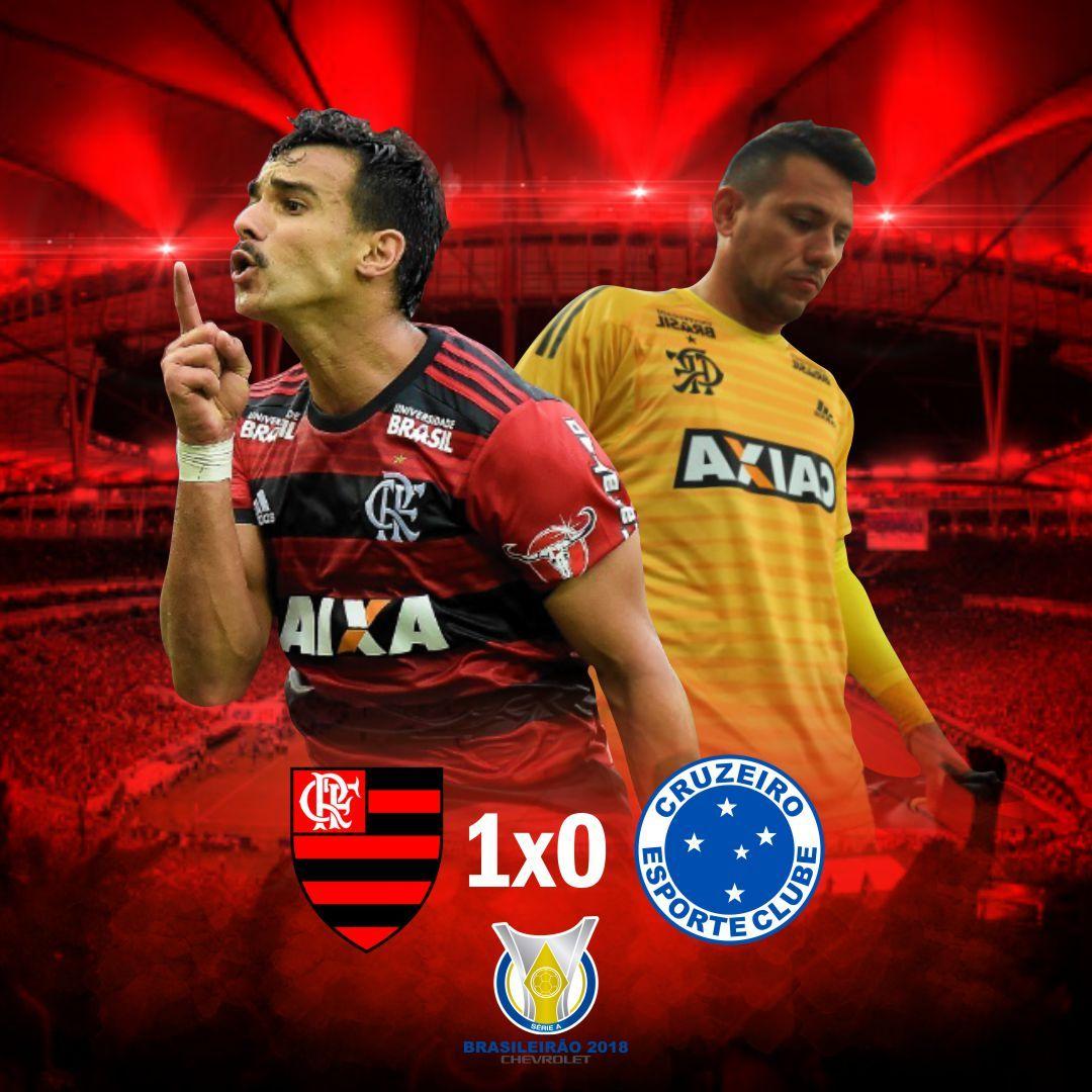 Flamengo 1 X 0 Cruzeiro Campeonato Brasileiro 2018 Gol De