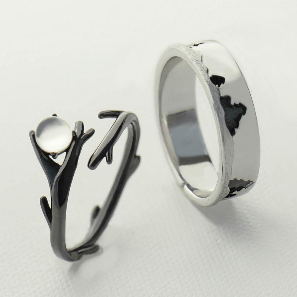 Elegant Oval Cut 925 Sterling Silver Ladies Moonstone Designer Ring Gemstone