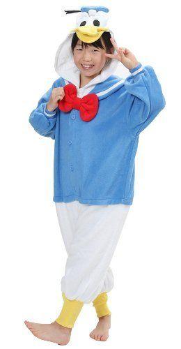 c148fc29801f Disney Donald Duck Kigurumi Costumes For Children