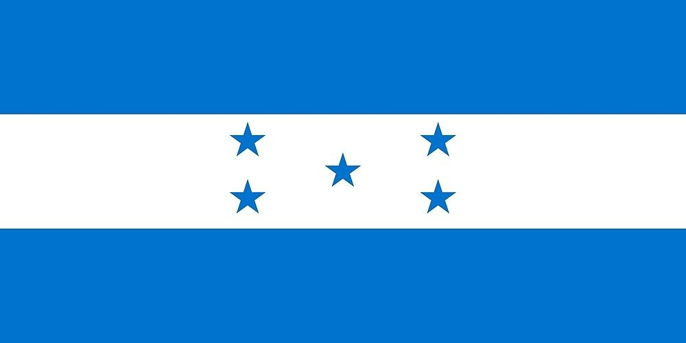 Flag Of Honduras By Argosdesigns Redbubble Honduras Flag Honduras Flag