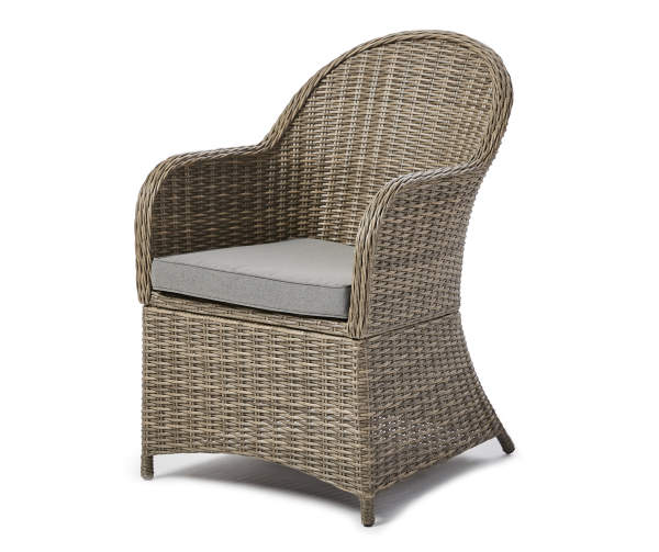 Broyhill Legacy Castle Pines Gray All Weather Wicker Cushioned Patio Captain S Dining Chair Big Lots In 2021 Outdoor Wicker Chairs Wicker Patio Chairs Wicker Dining Chairs All weather wicker dining chairs