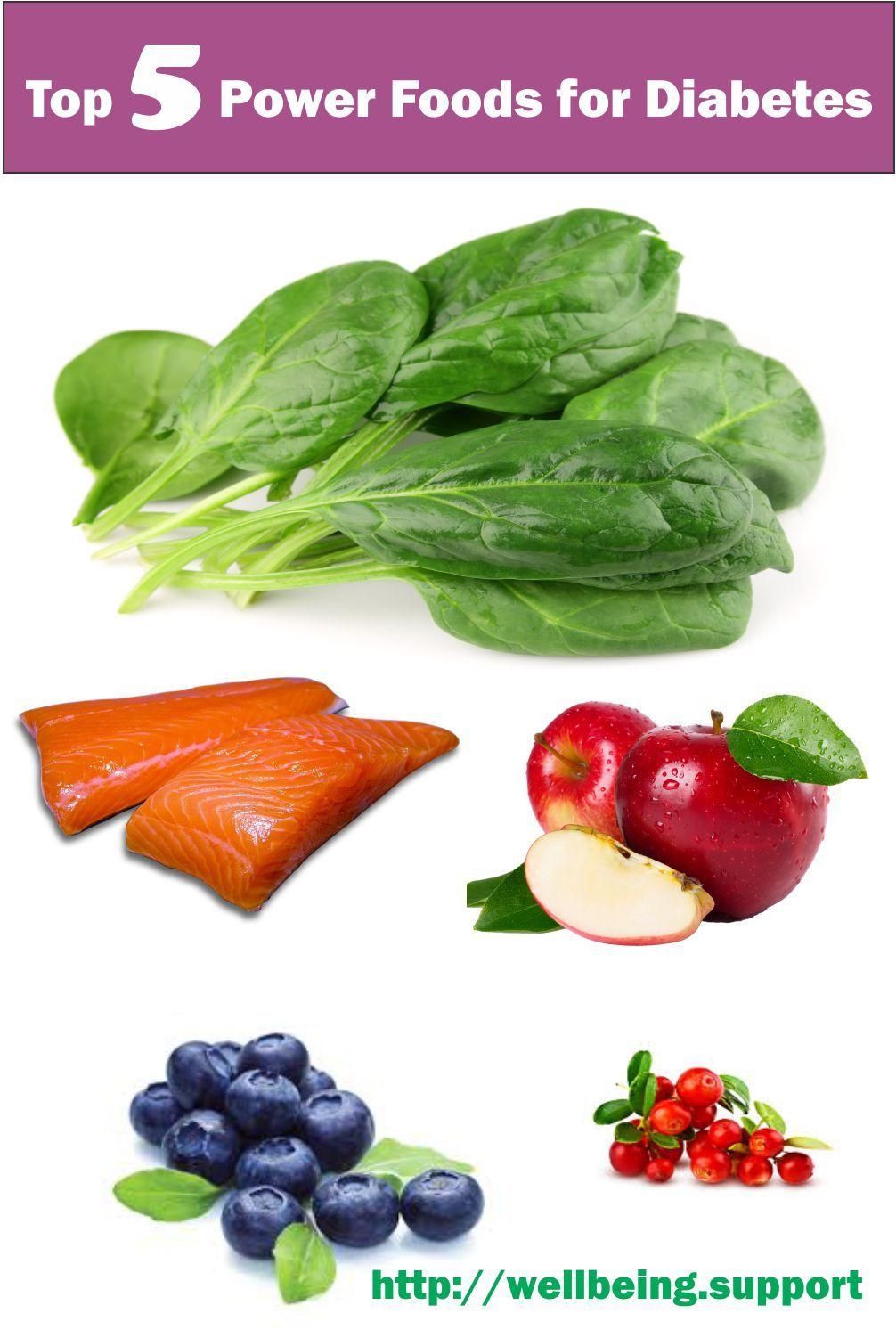 Top 5 Power Foods for Diabetes | Power foods, Food, Food ...