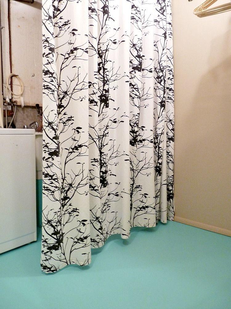 Lovely Basement Curtain Ideas