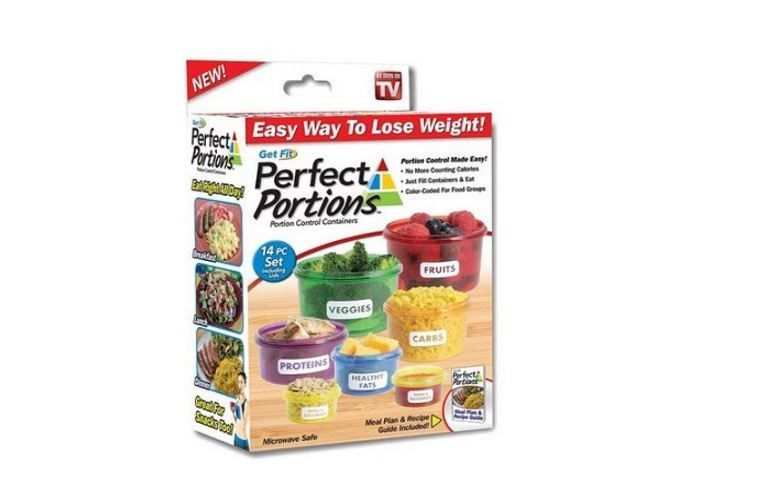 Perfect Portions Food Storage Containers Set