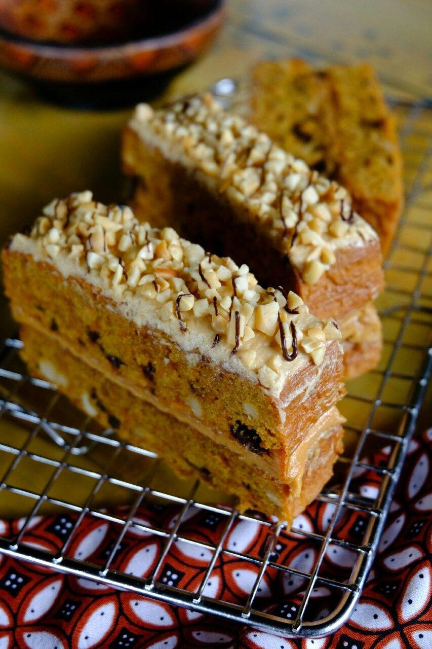 Pin Di Premium Carrot Cake Peanut