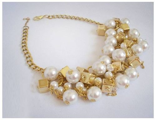 89ee868cf265 Collar Perlas Dorado / Plateado - Fiestas - $ 399,00 | Accesorios ...