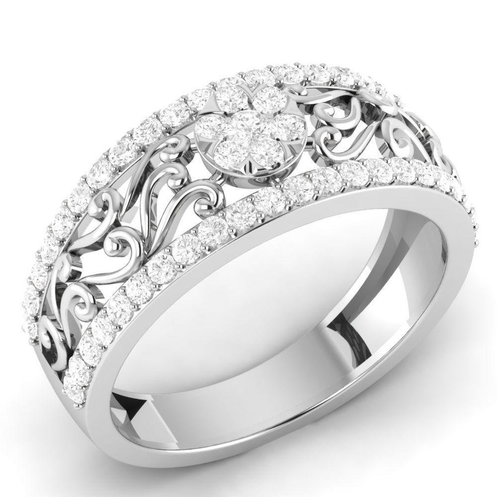 gold flower ring design