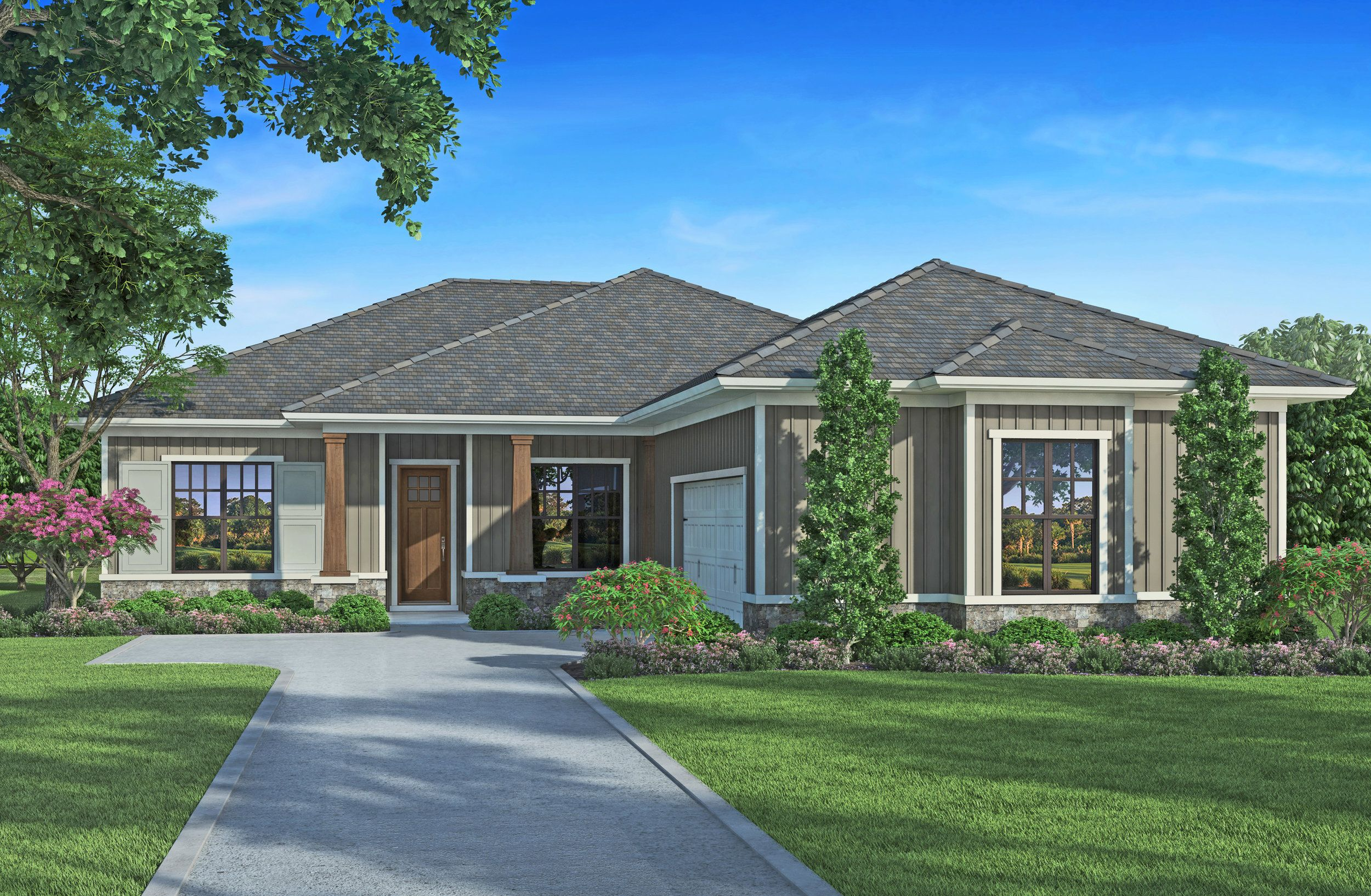 Cedarwood House Plan 510 4 Bed 3 Bath 2 324 Sq Ft Wright Jenkins Custom Home Design Stock House Floor Plans In 2020 Craftsman Style House Plans Single Story Homes House Plans