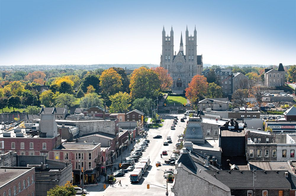 Guelph, Ontario is a mighty fine looking city : canada