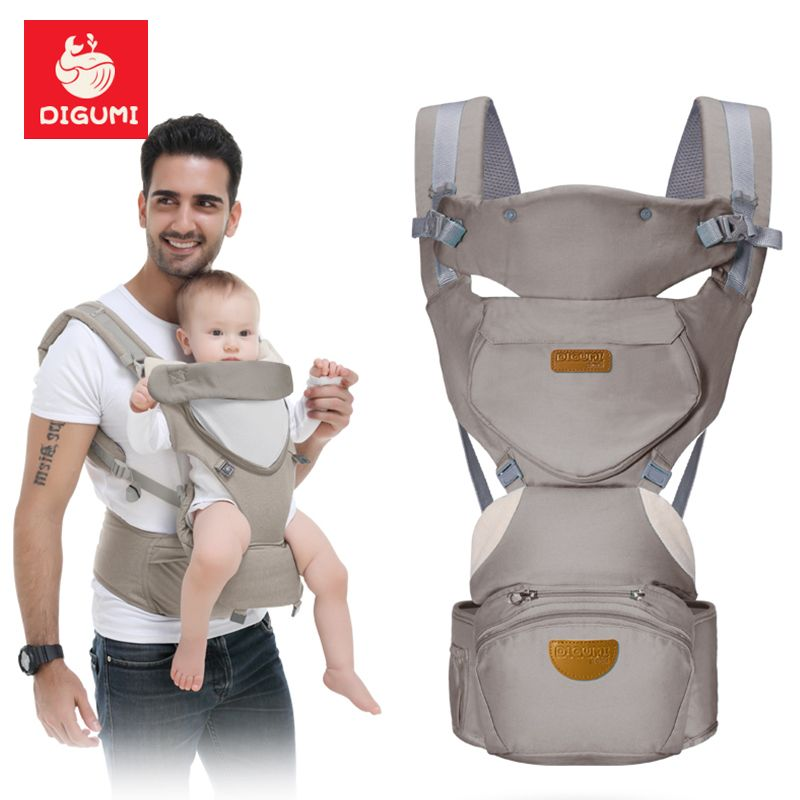 5765f649226 Find More Backpacks  amp  Carriers Information about DIGUMI 0 36m Infant  Toddler Ergonomic Baby Carrier