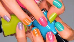 uñas de varios colores - Buscar con Google