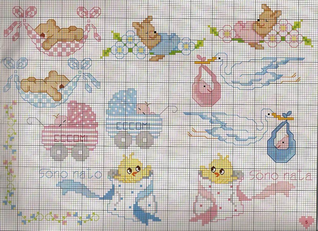 Solo Patrones Punto Cruz Baby Cross Stitch Patterns Cross Stitch Animals Cross Stitch Cards