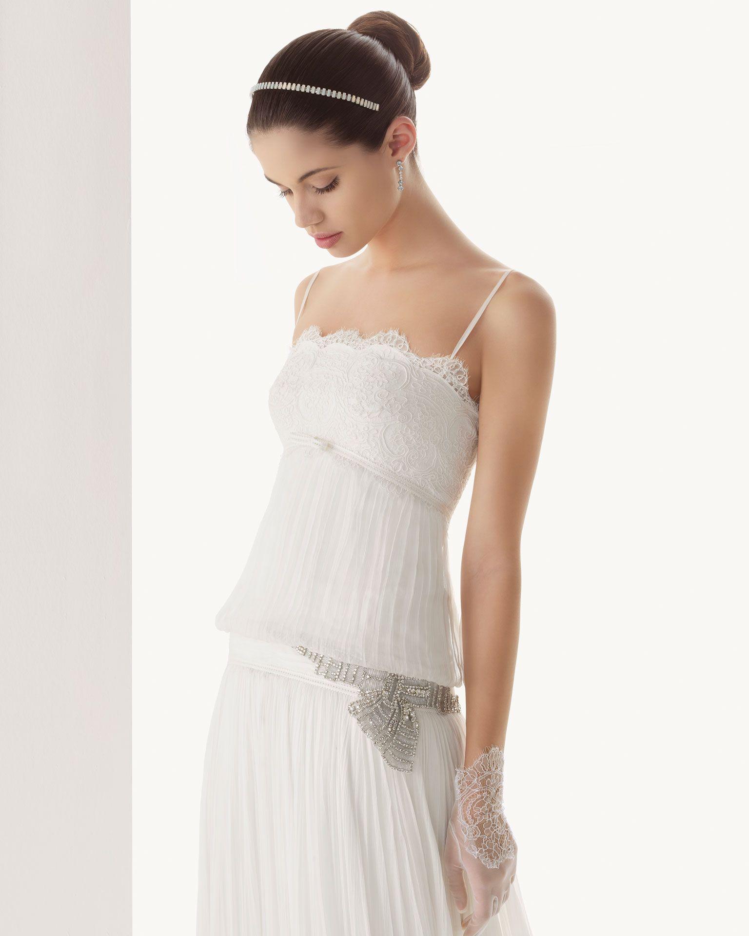 Vestidodenoviarosaclara rosa clara bridal collection