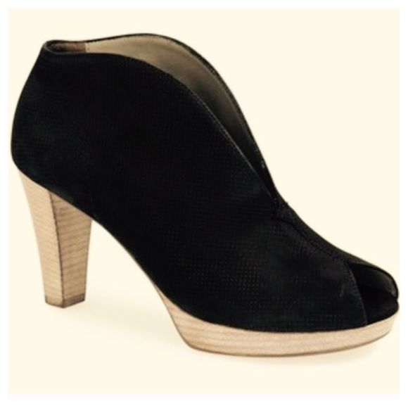 Paul Green Veronia Booties Add alluring appeal in the Paul Green Veronia! ;  Leather upper
