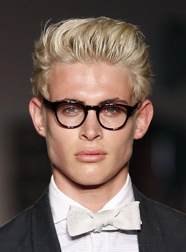 Men S Updos Hair With Height Men Blonde Hair Men S Long Hairstyles Blonde Hair Dark Eyes