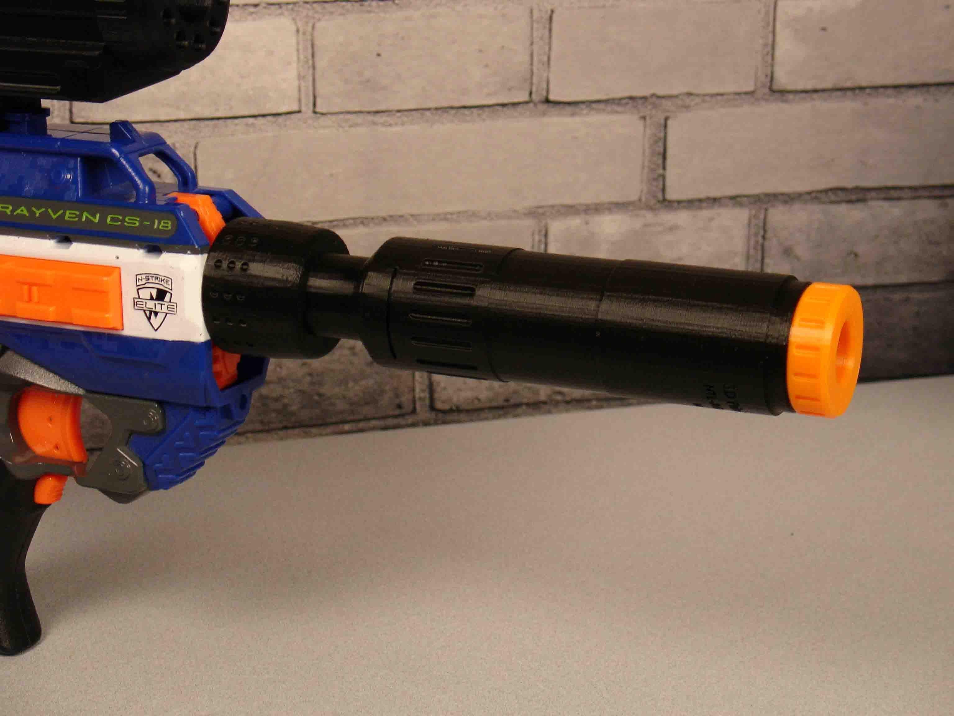 "Wasuremono Tactical Suppressor/Silencer ""Outdoor Series"" – Blaster  Accessories. NerfShopping ListsGunsWeapons ..."
