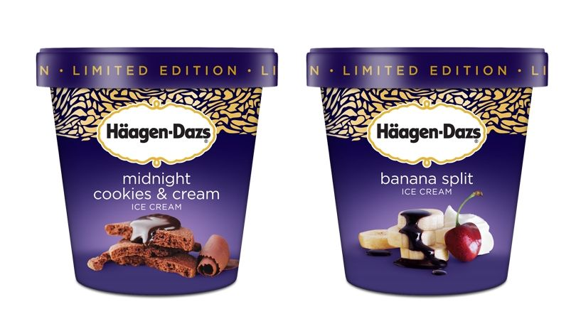 Haagen Dazs Ice Cream Pot