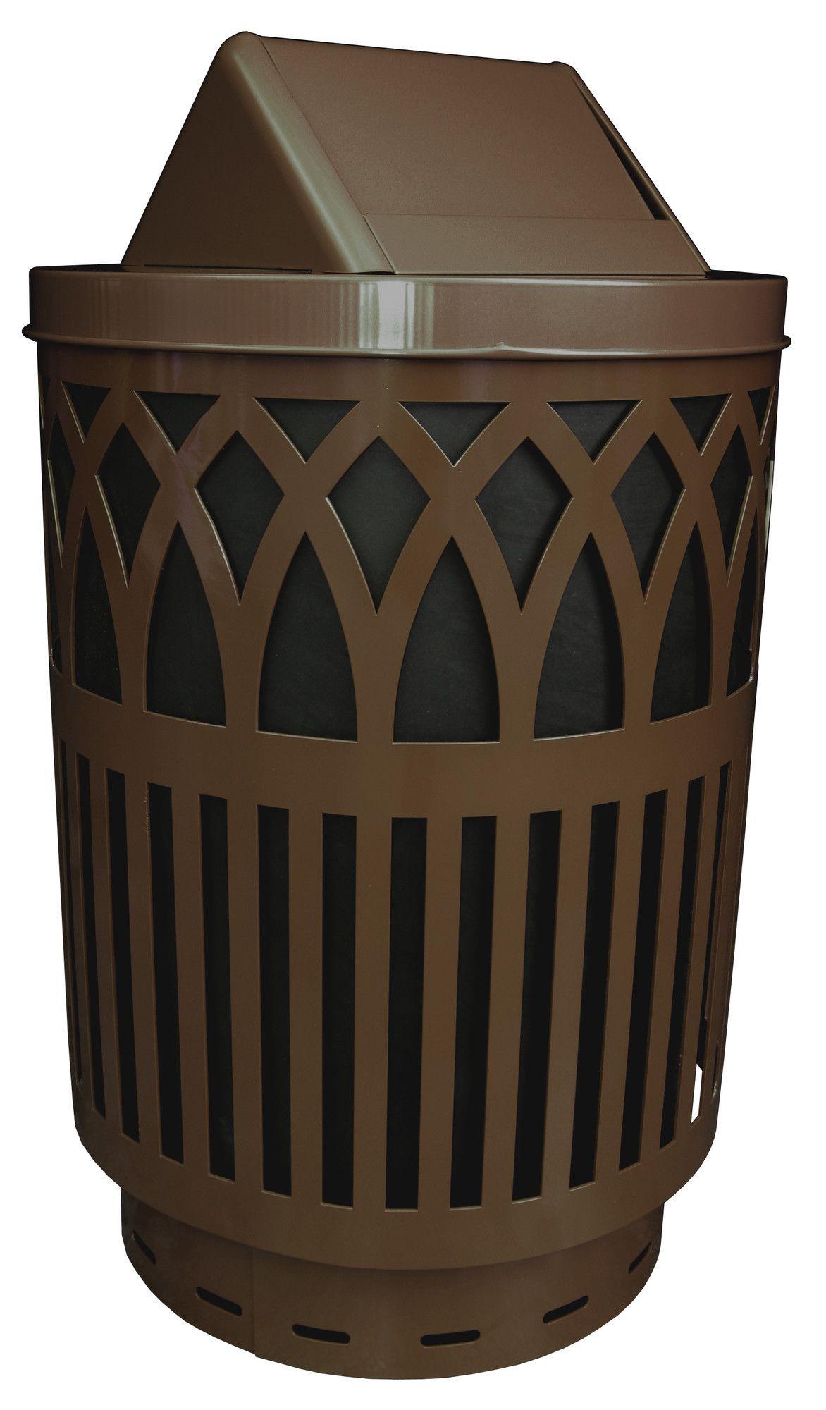 Covington 40-Gal Steel Can