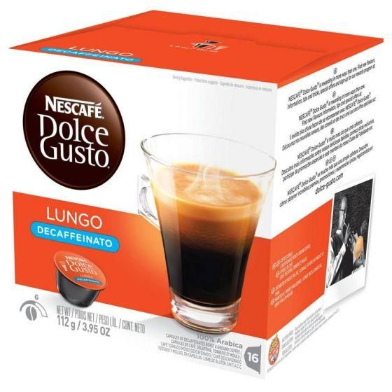 Nescafe Caffe Lungo Decaf Dolce Gusto Capsules In 2019