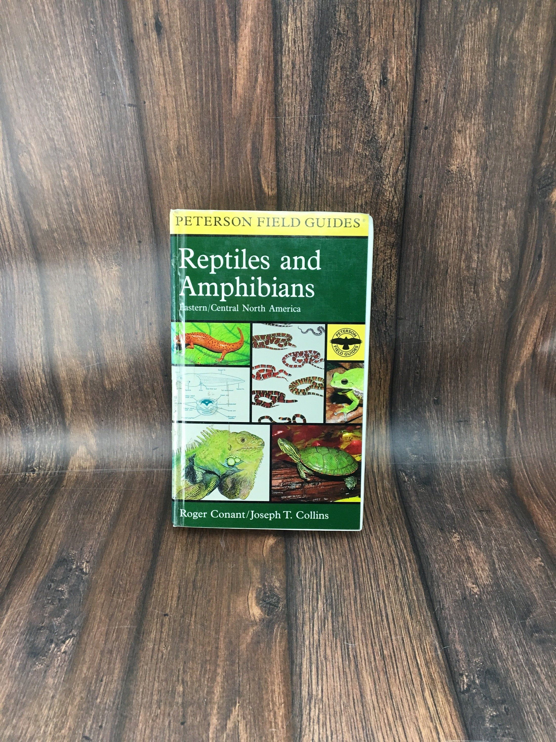 1998 Peterson Field Guides Reptiles And Amphibians Eastern Central North America Roger Conant Illustrations Color Plates Herpetology Amphibians Central