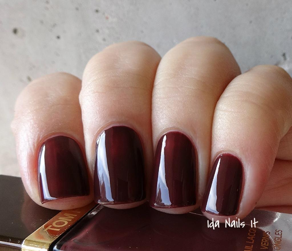 pin mid high end nail polish