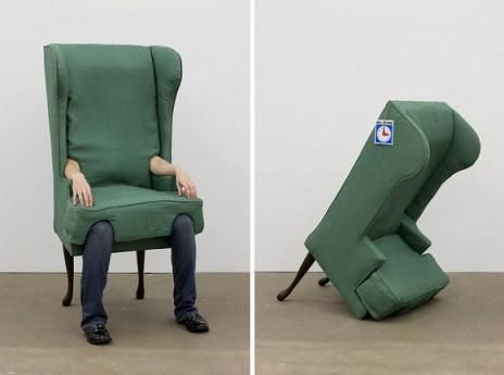 Human Chair Could Be The Cutest Halloween Costume Ever Cool Chairs Chair Chair Design