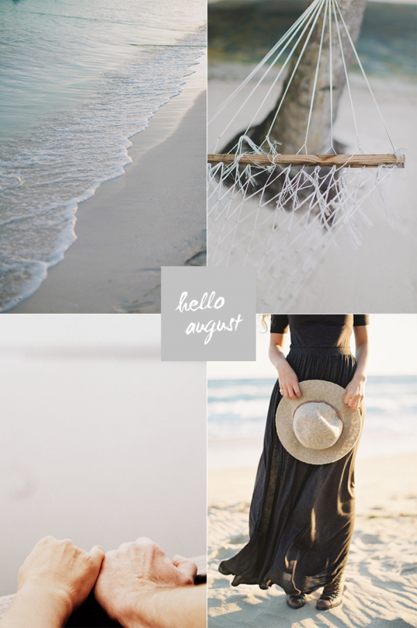 Hello August collage | Strand