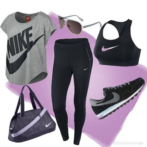 sports shoes 853cd cacd0 Outfit para ir al gym, estar a la moda en el gym es fácil gracias a Nike.   Nike  gym  estilo  mujer  moda