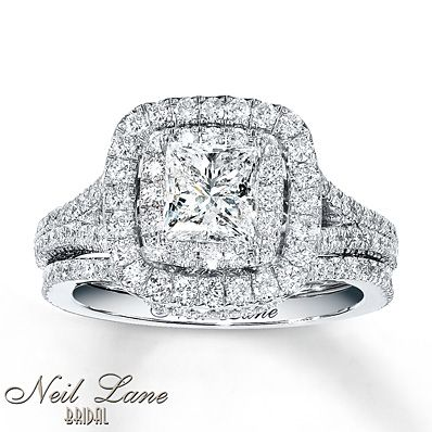 my dream ring all ill ever need neil lane bridal set 2 ct tw diamonds white gold - Kays Jewelers Wedding Rings
